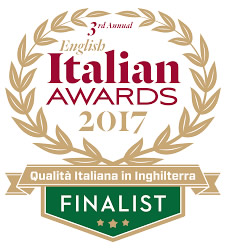English Italian Awards Finalist