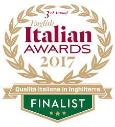English Italian Awards Finalist